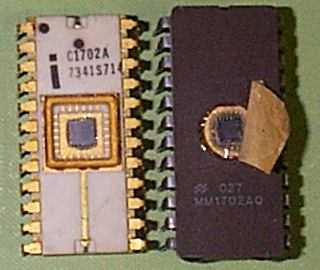 The 1702A 256-byte EPROM