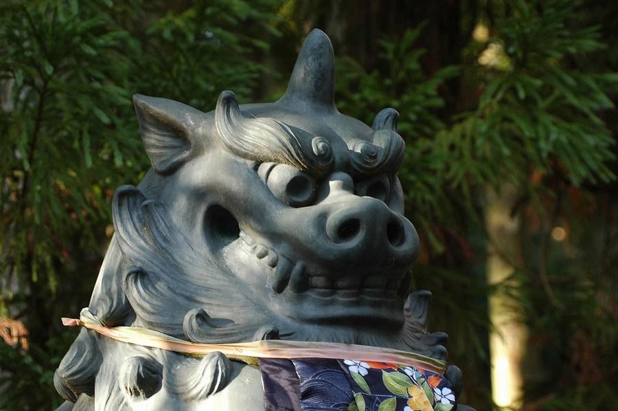 山王院の狛犬