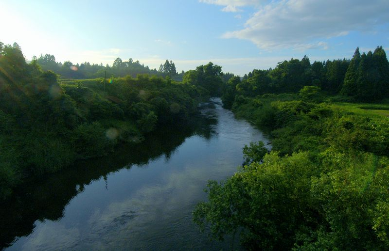 2006年初夏の平泉と衣川をゆく